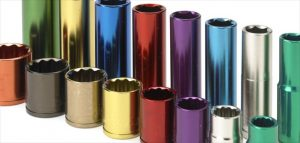 anodising metal components