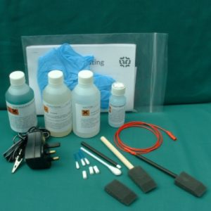 Brush Gold & Nickel Plating Kit