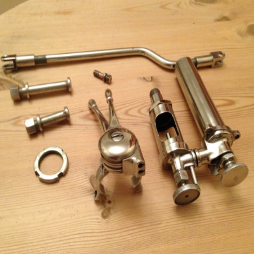 nickel plated items
