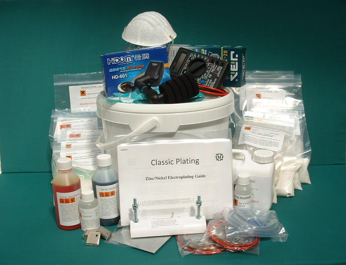 Zinc Nickel Plating Kit