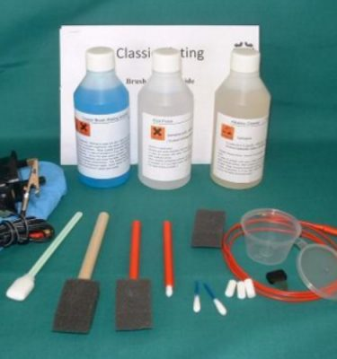 Alkaline \ Flash Copper Brush Plating Kit