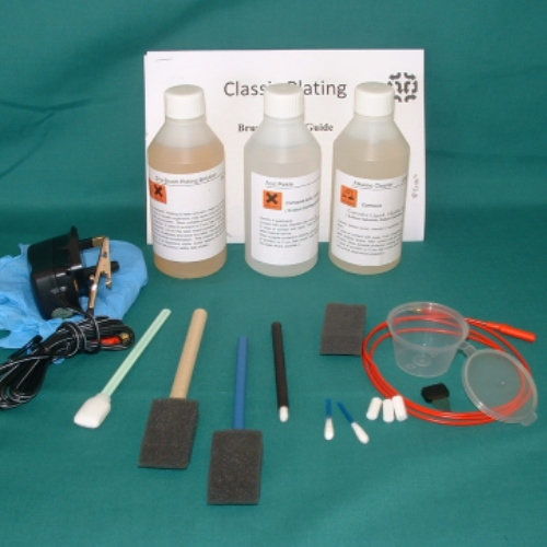 Zinc Brush Plating Kit