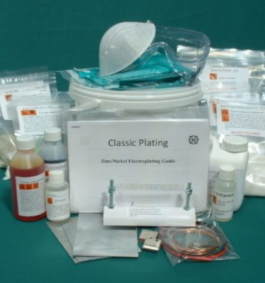 Zinc Plating Kit - Classic Plating Buy DIY Zinc Plating Kit