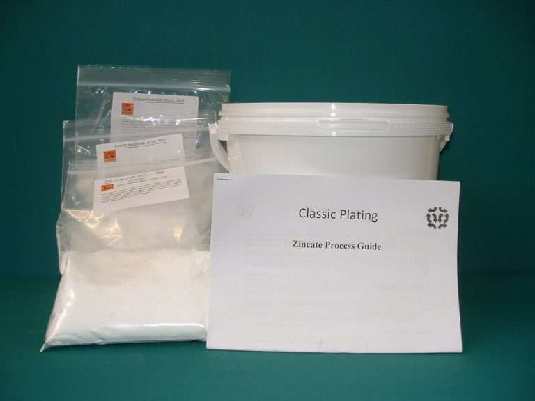 Zincate Cleaning Kit